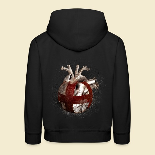 Radball | Cycle Ball Heart - Kinder Premium Hoodie