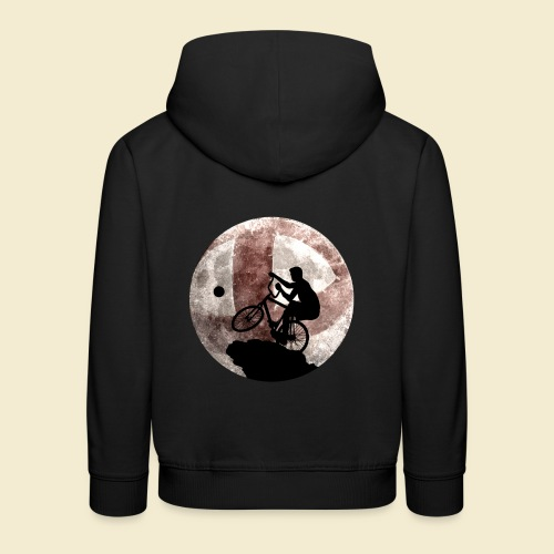 Radball | Cycle Ball Moon - Kinder Premium Hoodie