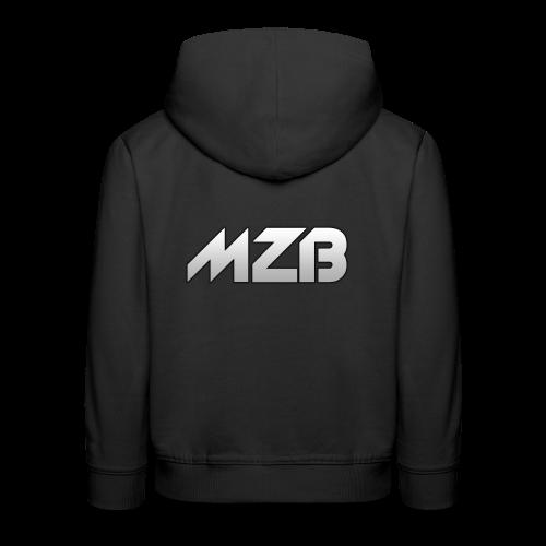 MZB Logo Design For Merch - Kids' Premium Hoodie
