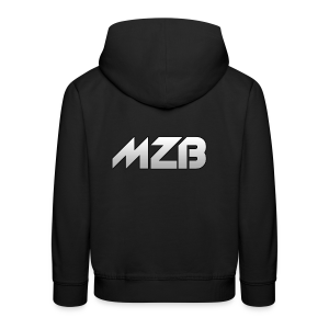 MZB Logo Design For Merch - Kids' Premium Hoodie