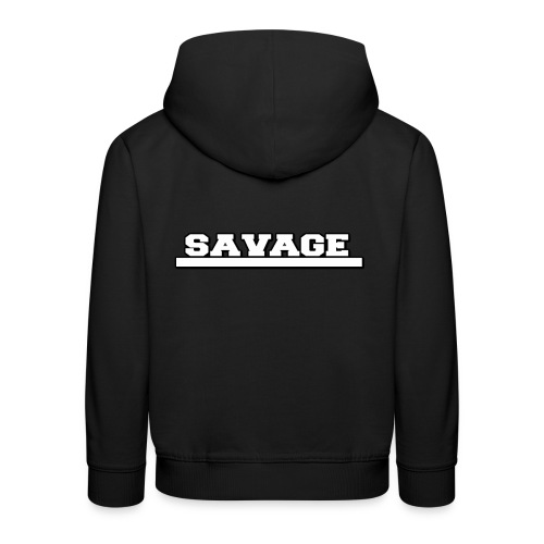 Savage Design - Kids' Premium Hoodie