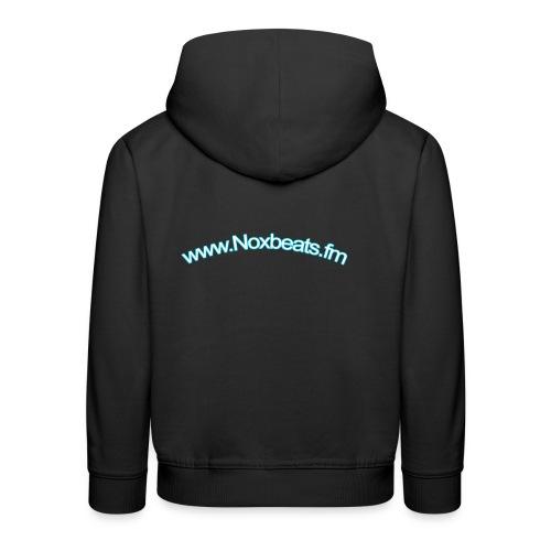 Noxbeats.fm Webseite - Kinder Premium Hoodie