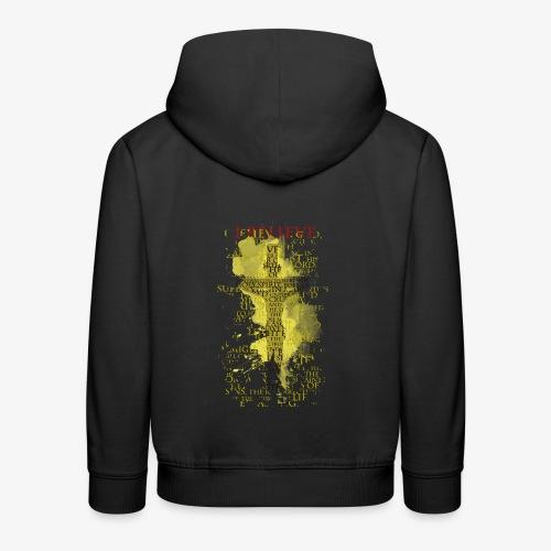 I believe / wierzę (yellow-żółty) - Bluza dziecięca z kapturem Premium