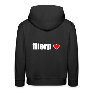 I love Flierp - Kinderen trui Premium met capuchon