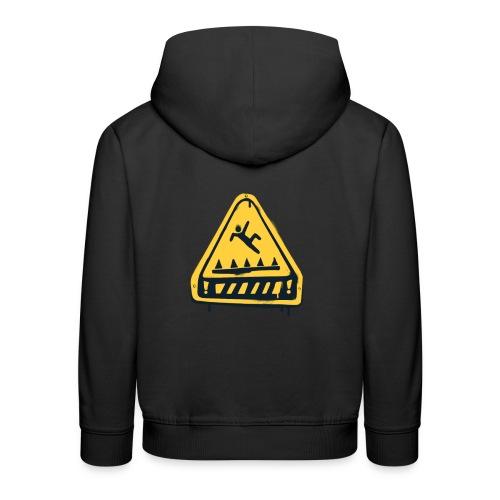 Fortnite Trap Warning - Kids' Premium Hoodie
