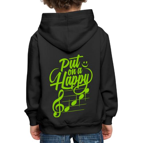 happy face colorize - Kinder Premium Hoodie
