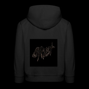 -Logo Qrust- - Pull à capuche Premium Enfant