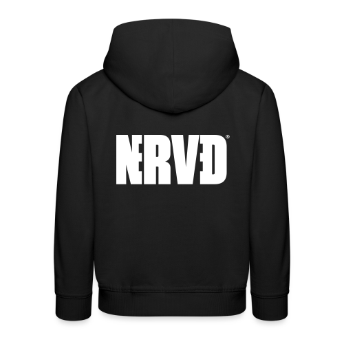 Official Nerved@ White Logotype - Kids' Premium Hoodie