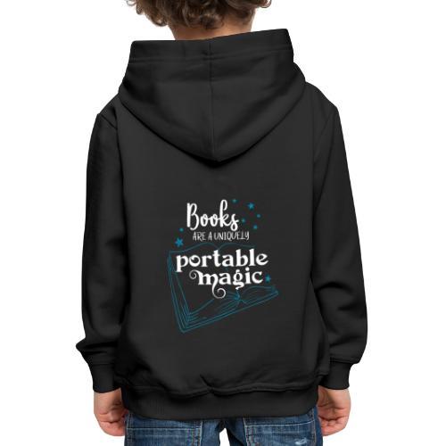 0030 books are unique magic | Magic - Kids' Premium Hoodie