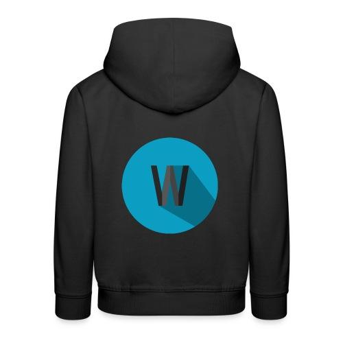 Weekiewee logo - Kids' Premium Hoodie