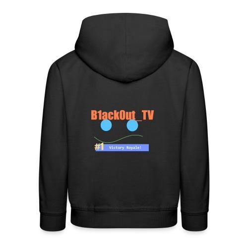 B1ack0ut Fan Art - Premium hættetrøje til børn