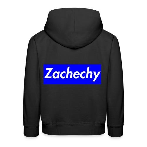 zachechy BLUE - Kinder Premium Hoodie