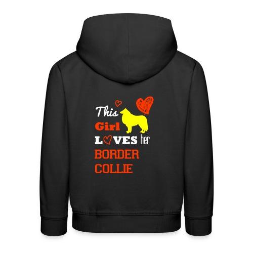 Border Collier - Kinder Premium Hoodie