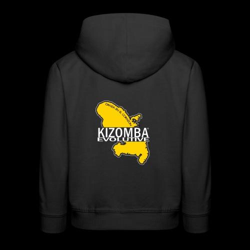 kizomba dos - Pull à capuche Premium Enfant