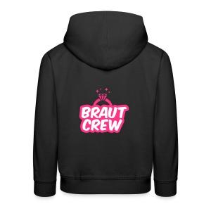 Braut Crew - JGA T-Shirt - JGA Shirt - Party - Kinder Premium Hoodie
