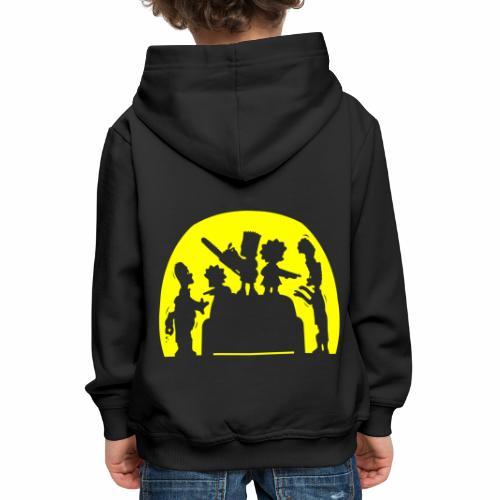 FAMILIA ZOMBIE - Sudadera con capucha premium niño