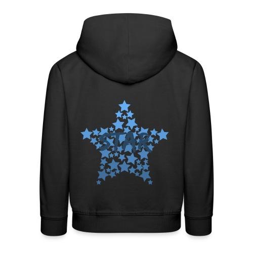 Blue star - Kids' Premium Hoodie