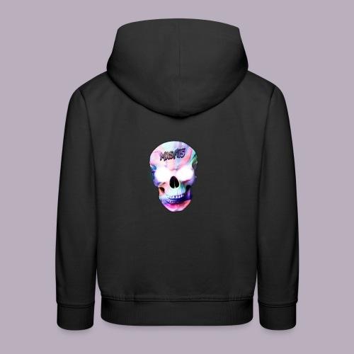 mxsfits skull logo - Kids' Premium Hoodie