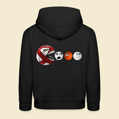 Radball | Cycle Ball RedMan - Kinder Premium Hoodie