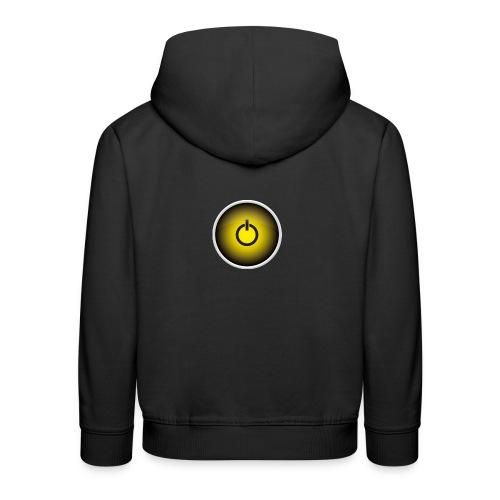 Off-Button - Kinder Premium Hoodie