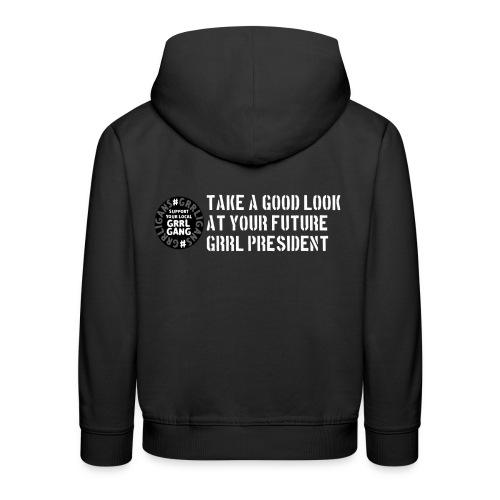President - Kids' Premium Hoodie
