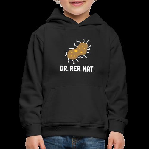 Bakterium Dr rer nat Promotion Biologe Biologie - Kinder Premium Hoodie
