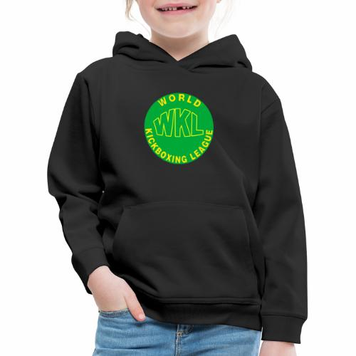 WKL GREEN - Sudadera con capucha premium niño