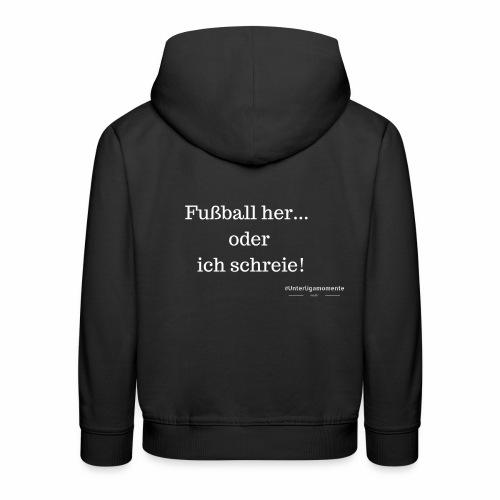 #Unterligamomente - Kinder Premium Hoodie