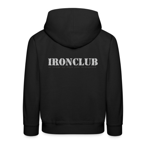 IRONCLUB - a way of life for everyone - Premium Barne-hettegenser