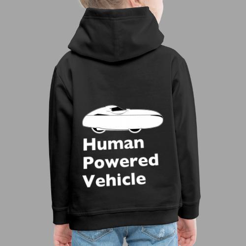 Quest Human Powered Vehicle 2 white - Lasten premium huppari