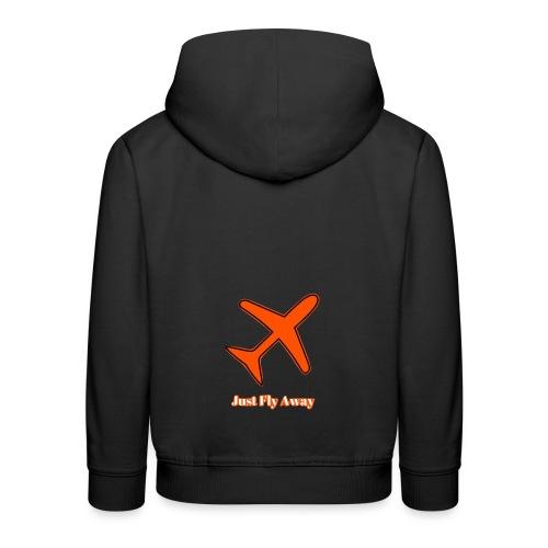 Just Fly Away - Kids' Premium Hoodie