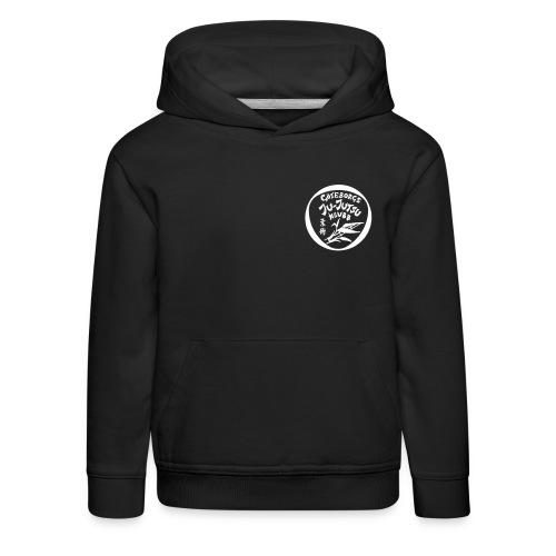 rygg centrerad tshirt hoodjacka troeja - Premium-Luvtröja barn