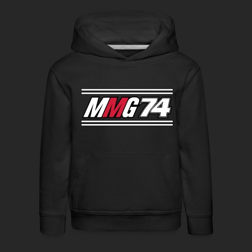 MMG Logo Vector_new_hatst - Premium-Luvtröja barn