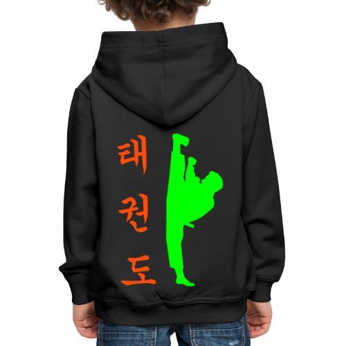 tollyo TKD - Kinder Premium Hoodie