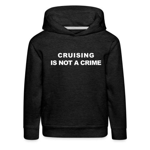 crimecb - Pull à capuche Premium Enfant