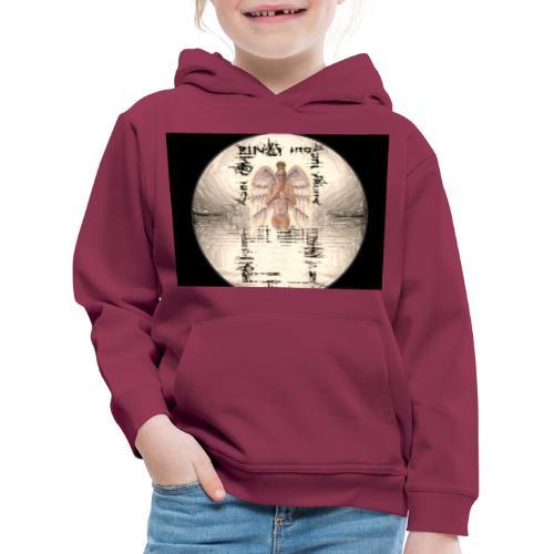 Your-Child black - Premium hættetrøje til børn