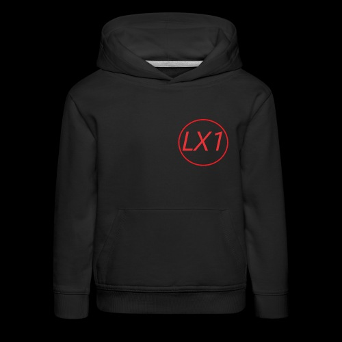 WilleLX1 Logo - Premium-Luvtröja barn
