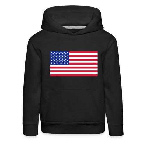 USA / United States - Kinderen trui Premium met capuchon