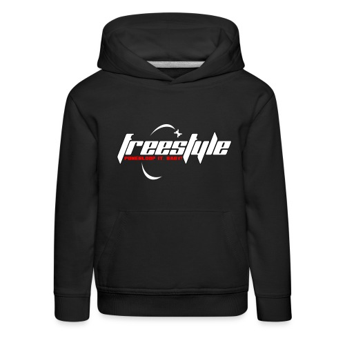 Freestyle - Powerlooping, baby! - Kids' Premium Hoodie