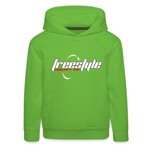 Freestyle - Powerlooping, baby! - Kids' Premium Hoodie