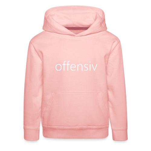 offensiv t-shirt (børn) - Premium hættetrøje til børn
