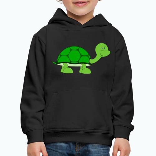 Totte Turtle - Appelsin - Premium-Luvtröja barn