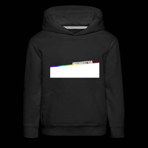 RainbowName - Pull à capuche Premium Enfant