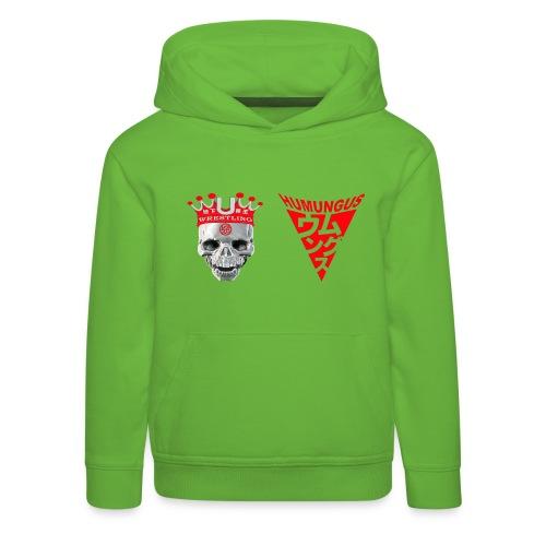 skull krone humungus3 png - Kinder Premium Hoodie