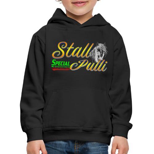 Special Edition Stall Pulli Reiten Pferd Geschenk - Kinder Premium Hoodie