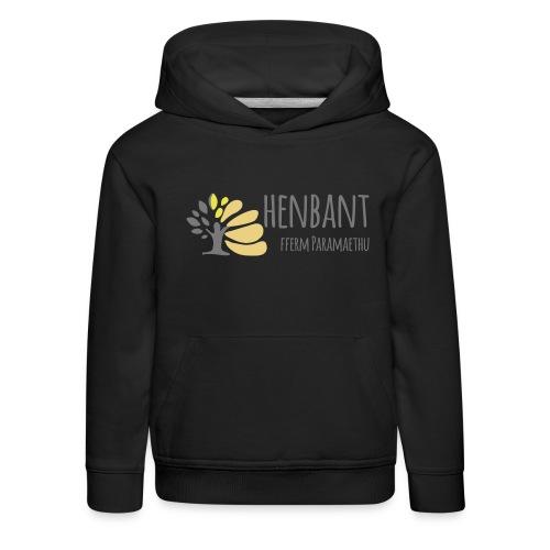 henbant logo - Kids' Premium Hoodie