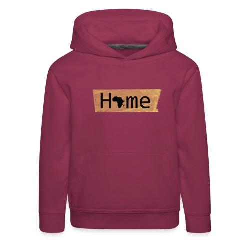home in africa - Kinder Premium Hoodie