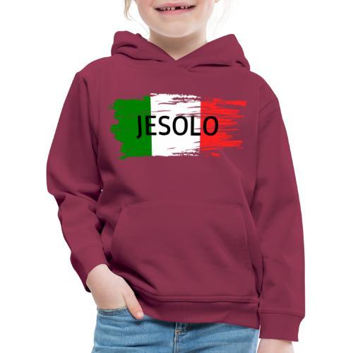 Jesolo auf Flagge - Kinder Premium Hoodie