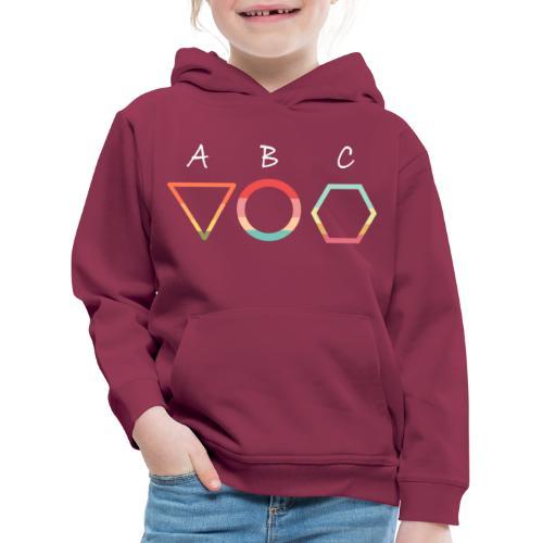 Abc t shirt - Premium-Luvtröja barn