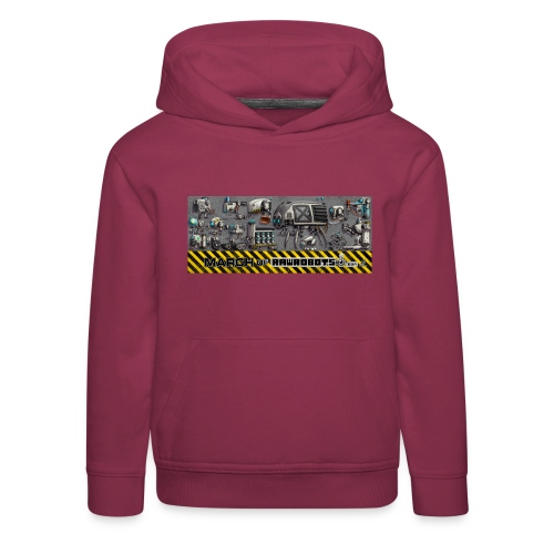 #MarchOfRobots ! LineUp Nr 1 - Premium hættetrøje til børn